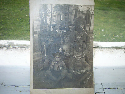 ORGINAL PHOTO- GERMAN SOLDIER,LOTS STAFF-WW1
