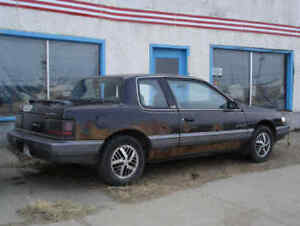 1989 Pontiac Grand Am good Quad 4, Needs Transmission