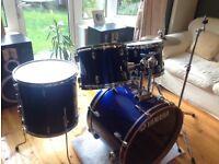 Yamaha Rydeen Blue Drum Kit