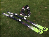 Mens Head Skis and Salomon Boots size 9 **£30**