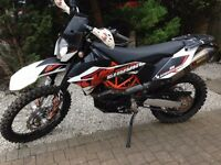 KTM 690 enduro R, KTM, touring, trail,