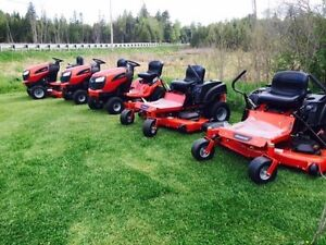 Cash paid for lawn tractor zero turn