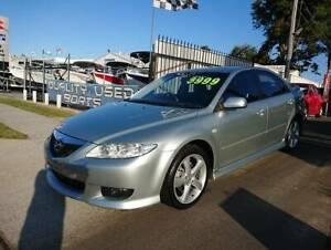 2003 Mazda Mazda6 LUXURY SPORTS Manual Hatchback Labrador Gold Coast City Preview