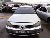 2005 Renault laguna, 1.9 diesel, for parts only, all parts available