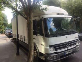 Mercedes atego 816 recovery curtains sided genuine low mileage 7.5t