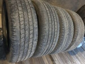 Goodyear 275 60 20 $250 for all 4(Perfect for Dodge Ram)