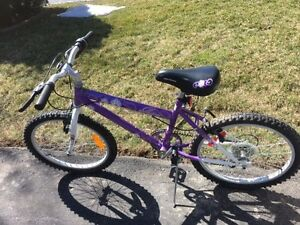 "20"" Avico girls' bike."