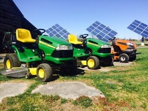 Wanted lawn tractor cash paid
