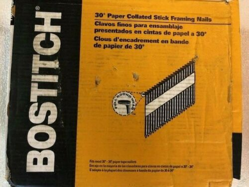 Bostitch PT-10D120FH25 2.5K 3 Inch Paper Tape Nail