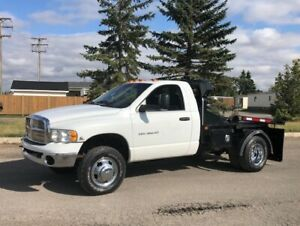 2005 Dodge Ram 3500 Bale Truck, 5.9L Cummins Turbo Diesel