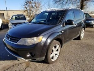 2007 Mitsubishi Outlander AWD!AUTO!LOADED!FULLY CERTIFIED@NO EXT