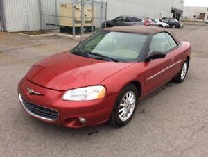 Chrysler Sebring 2001,décapotable,automatique
