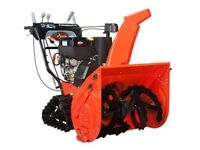 **10 Year Warranty Ariens Platinum Track 28 @ The M.A.R.S. Store City of Halifax Halifax Preview