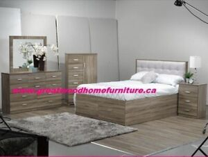 6 PC QUEEN STORAGE BED FOR SALE $899 ONLY....