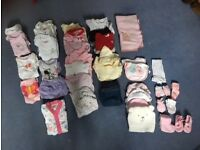 0-3 months baby girl clothes big bundle