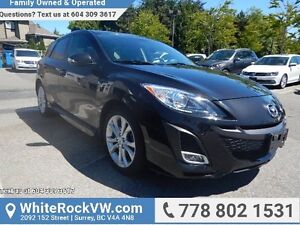 2010 Mazda Mazda3 GT LEATHER UPHOLSTERY, SUNROOF &