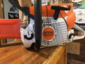 """STIHL MS441 20"""" Chainsaw Sale!!  FREE SPARE CHAIN AND A FREE 1L ENGINE OIL!"""