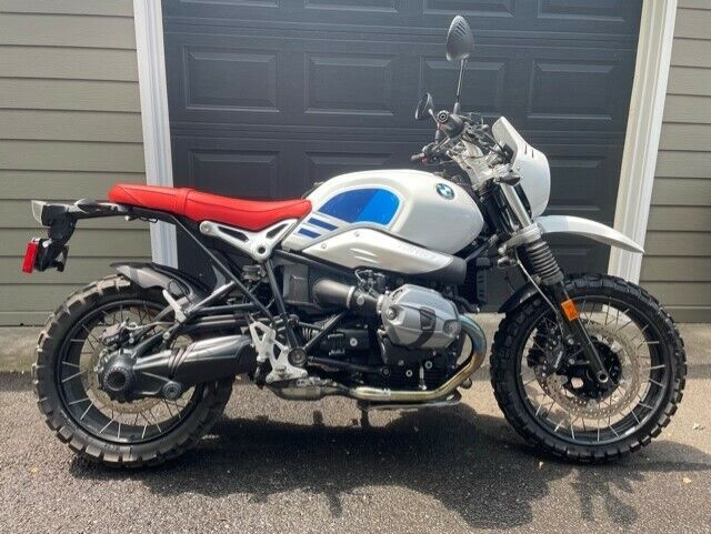 2018 BMW R Nine T Urban GS with lots of extras