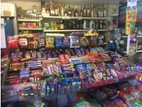 Busy off license/newsagent/convenience store, Audenshaw, Greater Manchester