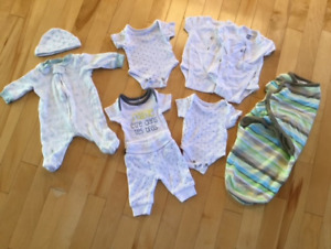 preemie baby boy clothes - lot $20