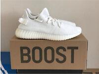 Triple White Yeezys Adidas Yeezy Boost 350