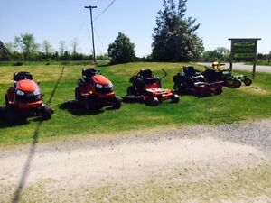 New & Used Lawn Equipment! Trade your old lawnmower in today!