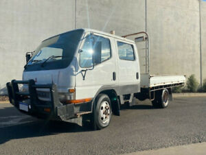 10/04, Mitsubishi, CANTER FE649, 4 x 2, Crew Cab Table Top  -Aircond.,  -P/Steer,  -P/Wind, Bell Park Geelong City Preview