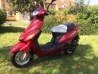 Direct Bikes DB50 QT-11 50cc scooter moped only 128 miles! like V clic Pulse Scout