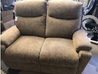 recliner two seater sofa