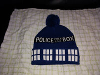 Dr Who Beanie Hat