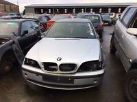 2004 BMW 320d, 2.0 diesel, for parts only, all parts available