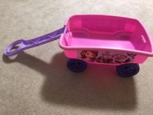 "PINK TOY WAGON ""SOFIA THE FIRST""."