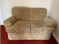 2 x Sofa and Footstool
