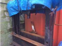 60 t Churchill Hydraulic press