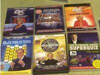 Interactive DVD games - 8 quiz type games