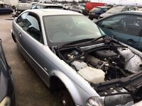2000 BMW 3 Series 318 E46 1.9 CI, for parts only, all parts available