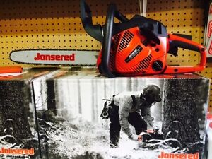 Jonsered Chainsaws IN STOCK!   Trade in your old saw !