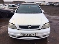 2000 Vauxhall astra, 1.7 diesel, for parts only, all parts available