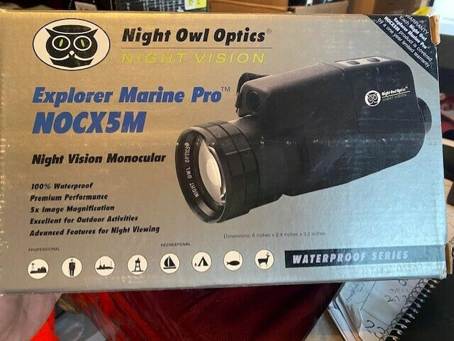 BRAND NEW Night Owl Optics NOCX-5M EXPLORER MARINE PRO Night