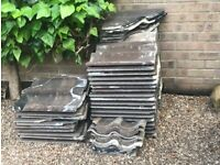 FREE grey roof tiles to collect