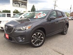 2016 Mazda CX-5 GT AWD // FULLY LOADED // NAV, SUNROOF, LEATHER