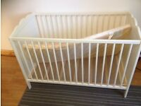 CHILD BED With Mattress .Size 60x120 cm from IKEA