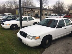 2010 Ford Crown Victoria former Police vehicle PROPANE AND GAS