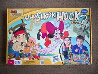 Disney Who Shook Hook game, Jake and the Never Land Pirates