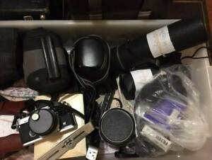REDUCED Price For The LOT, WAS $1200, cameras and lenses