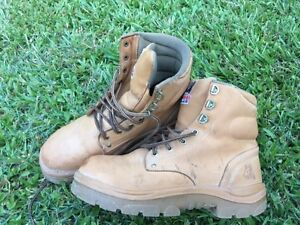 Blue Steel Argyle Steel Capped Safety Work Boots RRP $170 Size9.5 Bardon Brisbane North West Preview