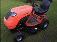 Countax C600 ride on mower & Sweeper collector