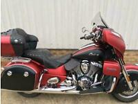 2018 Indian Roadmaster Icon...one owner...stage one...F.S.H...9293 miles