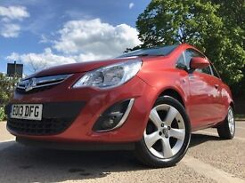VAUXHALL CORSA 2013 - 1.2 PETROL - 3 DOOR - EXCELLENT CONDITION - MANUAL - JUST SERVICED! NEW M.O.T