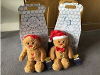 Brand New Gingerbread Man & Gingerbread Girl